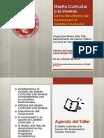 Diseño Curricular a la Inversa-Del Assessment al Cambio Curricular-OCT 26-2012-Ángel Israel Rivera