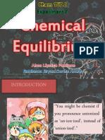 Chem157.1 Experiment 7 Chemical Equilibrium