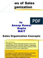 4 Sales Organization Structure