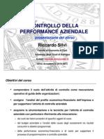 1 Introduzione Corso Controllo Performance I 2010-11