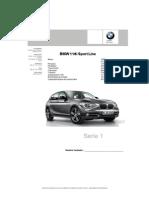 Especificación F20 BMW 118i Sport