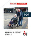 Shopmobility Stockport Annual Report 2011-12