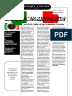 La voce del Nazionalista n°1 anno I - FEDERAZIONE NAZIONALISTA ITALIANA