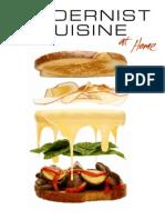 Modernist Cuisine at Home Brochure