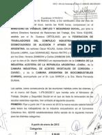 Acuerdo 2012