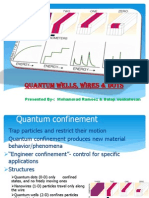 Quantum Well Wire & Dots