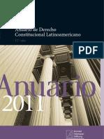 Anuario de Derecho Constitucional Latinoamericano - 2011