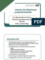 Tratamiento del Síndrome Postpoliomielitis, Dr. Mariano Bravo