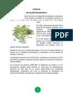El Estado de Chiapas