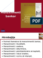 Menaxhmenti bankar