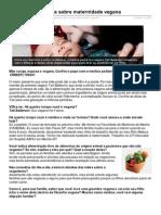 Médica pediatra fala sobre maternidadevegana - Vista-se.com.br