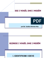 NVM Plani i biznesit   5 Identifikimi i Ideve