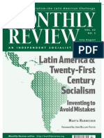 Harnecker_Latin America and Twenty-first Century Socialism