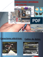 Cables y Conectores Internos de Una Pc