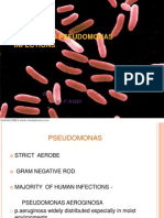 Cutaneous Pseudomonas Infections