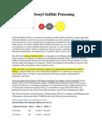 Carbonyl Sulfide Poisoning
