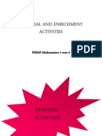 Ele 3102 Remedial and Enrichment Activities