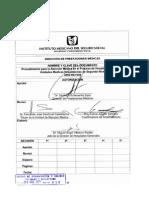 Procedimiento para la atención médica en el proceso de hospitalización en las Unidades médicas de 2do nivel2660-003-056