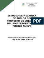 Mecanica de Suelos Pueblo Nuevo