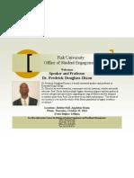 Dr. Frederick Douglass-Dixon