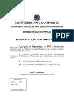 DNIT- resolução de n6