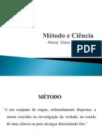 Método e Ciência