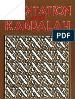 Aryeh Kaplan - 1982 - Meditation and Kabbalah