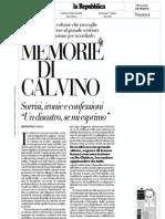 Memorie Calvino