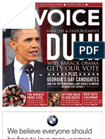 The Georgia Voice - 10/26/12 Vol.3, Issue 17