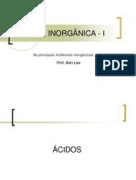 Aula - Principais Moléculas Inorganica-I