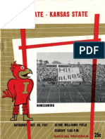 1957 Homecoming Football Program