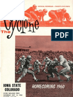 1960 Homecoming Football Program