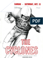 1962 Homecoming Football Program