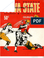1966 Homecoming Football Program