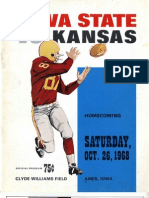 1968 Homecoming Football Program