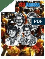 1977 Homecoming Football Program