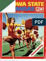 1979 Homecoming Football Program