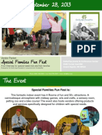 Special Familes Fun Fest 2013 Event Information