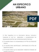 Plan Especifico Urbano