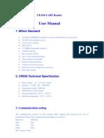 Cr030 UART Protocol