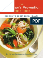 Recipes From the Alzheimer's Prevention Cookbook by Dr. Marwan Sabbah and Beau MacMillan