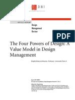 four powers of design