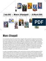 Midterm - Marc Chagall Timeline