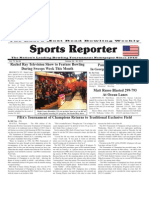 October 24 - 30, 2012 Sports Reporter