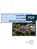 Feasability Study Hincesti_english