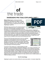 (eBook) Sound Engineering Tutorials From Sound on Sound -- Feature - Digidesign's Pro Tools Explained 1