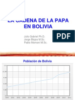 La cadena de la papa en Bolivia