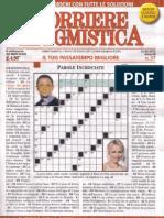 Corriere Enigmistica n.37 Del 12 Settembre 2012