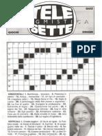 Enigmistica TeleSette N.22 27 Maggio 2012