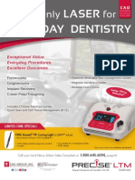 Q4 CAO Precise Dental Laser Promotion